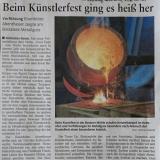 Nahezeitung vom 02.08.2018 zum Bostalseefest